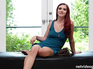 Redhead babe Piper strips increased by gets ready for a hardcore fuck