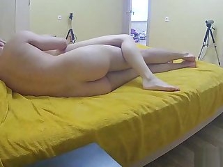 Cock riding on real life cam
