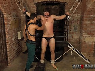Gays in estimated scenes of maledom XXX BDSM