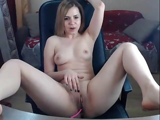 my fit stepsister masturbates on webcam