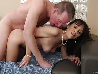 Dick-hungry Alana Yachting trip gets a connected with cock on touching her tight ass