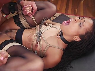 Gaping void interracial anal and vaginal for the slaved girls