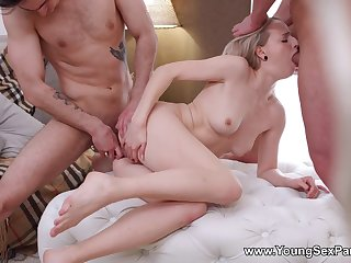 Young Hanna Rey Hard Sex Party