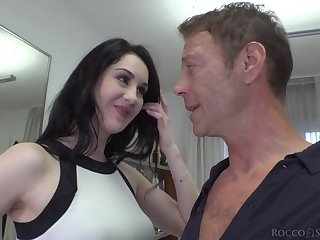 Meri Kriss has a scrupulous tight butthole and turn this way chick loves big cocks